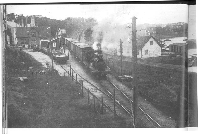 Jernbanen svillet seg over Jæren