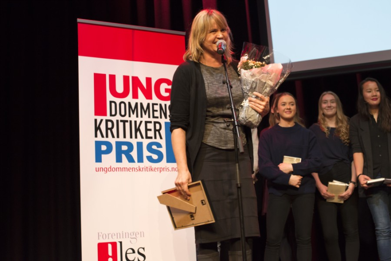 Vinner av Ungdommens kritikerpris 2017