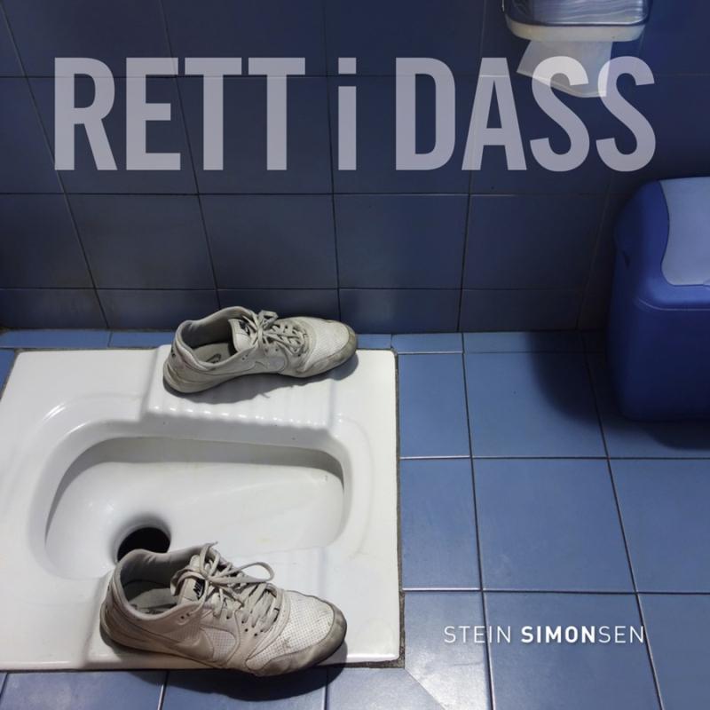Stein Simonsen er nå aktuell med boken Rett i dass.
