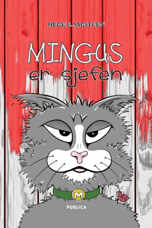 Hege Edvartsen Sagstuen er nå aktuell med boken Mingus er sjefen